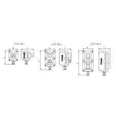 Пост управления взрывозащищенный LTCP-IIB-2-[B101(1)/B4(1)]