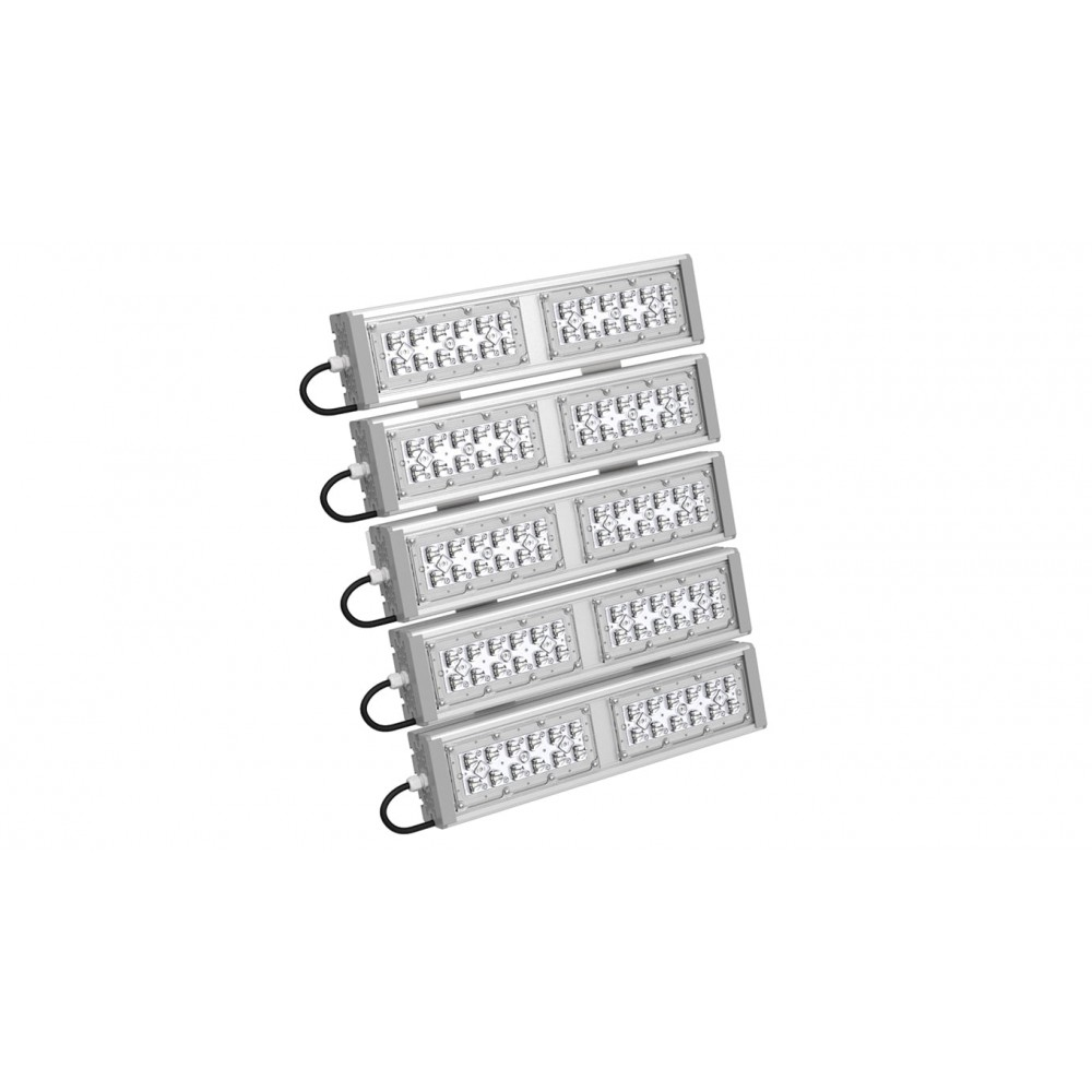 Светодиодный уличный светильник SVT-STR-M-53W-VSM-PENTA