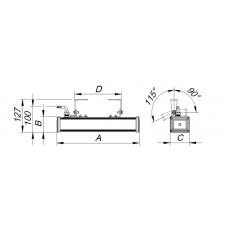 Коннектор кабельный вилка Techno-THB.387.A3A