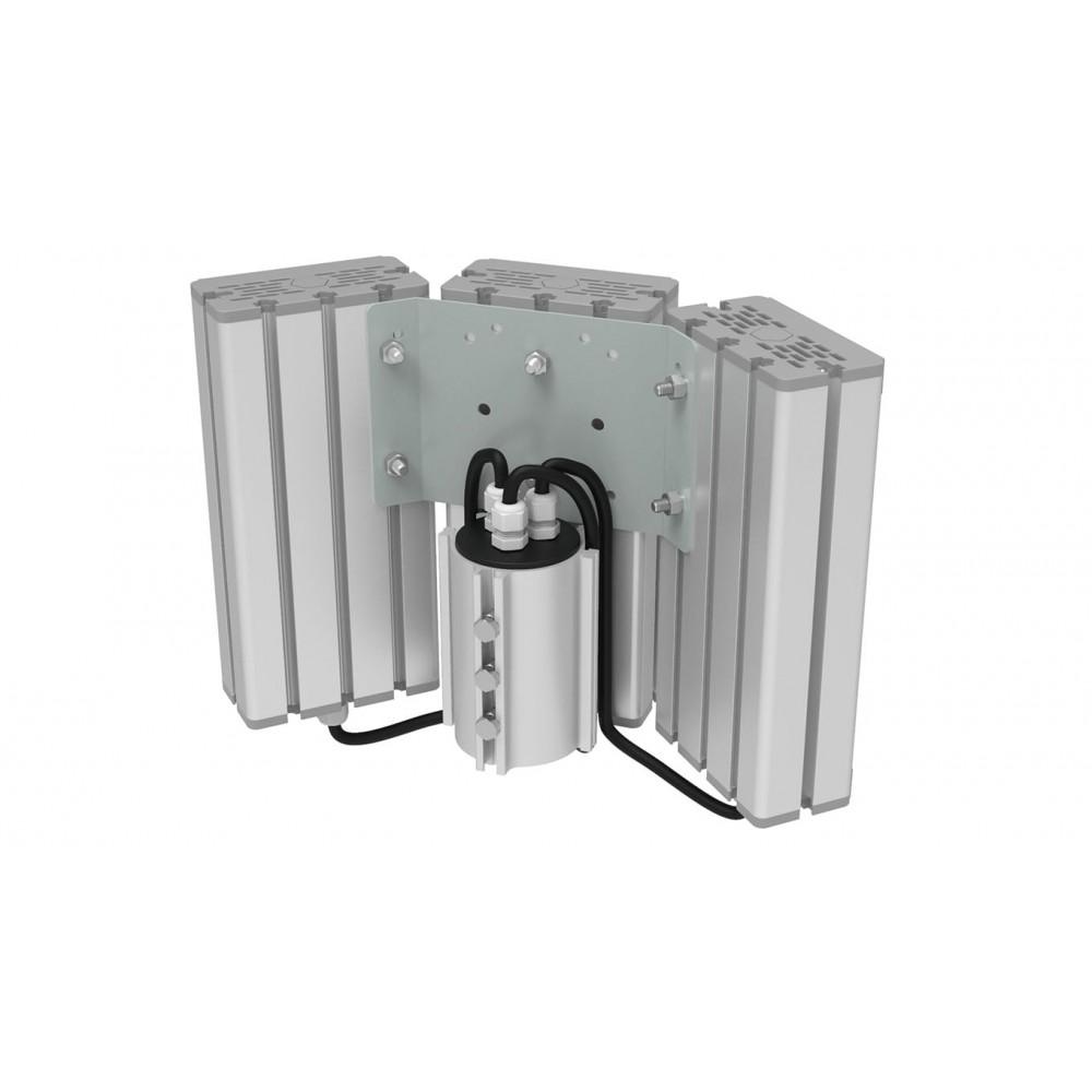 Светодиодный уличный светильник SVT-STR-M-32W-TRIO90-C (с защитой от 380)