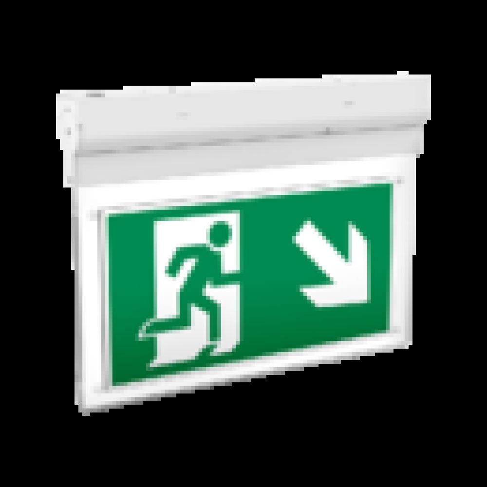 Световой указатель Varton Flip серии Advanced 3W IP40 3ч, V1-EM-70432-02A01-4000365