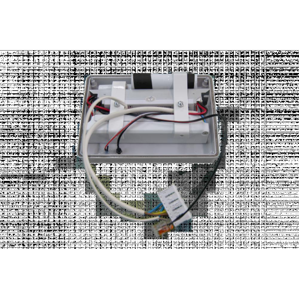 Светодиодный светильник аварийный ДиУС-55 линейный с БАП