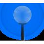 Светодиодный уличный светильник SVT-STR-Ball-300-40W-T
