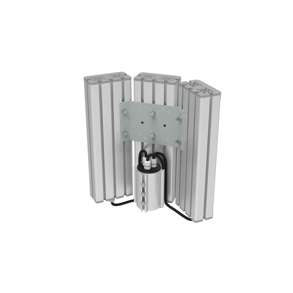 Светодиодный уличный светильник SVT-STR-M-61W-TRIO90-C