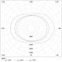 Низковольтный светодиодный светильник ЖКХ-12W 12V (AL) овал