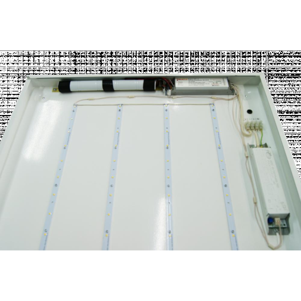 Светодиодный светильник аварийный Эконом Офис-24/8 с БАП