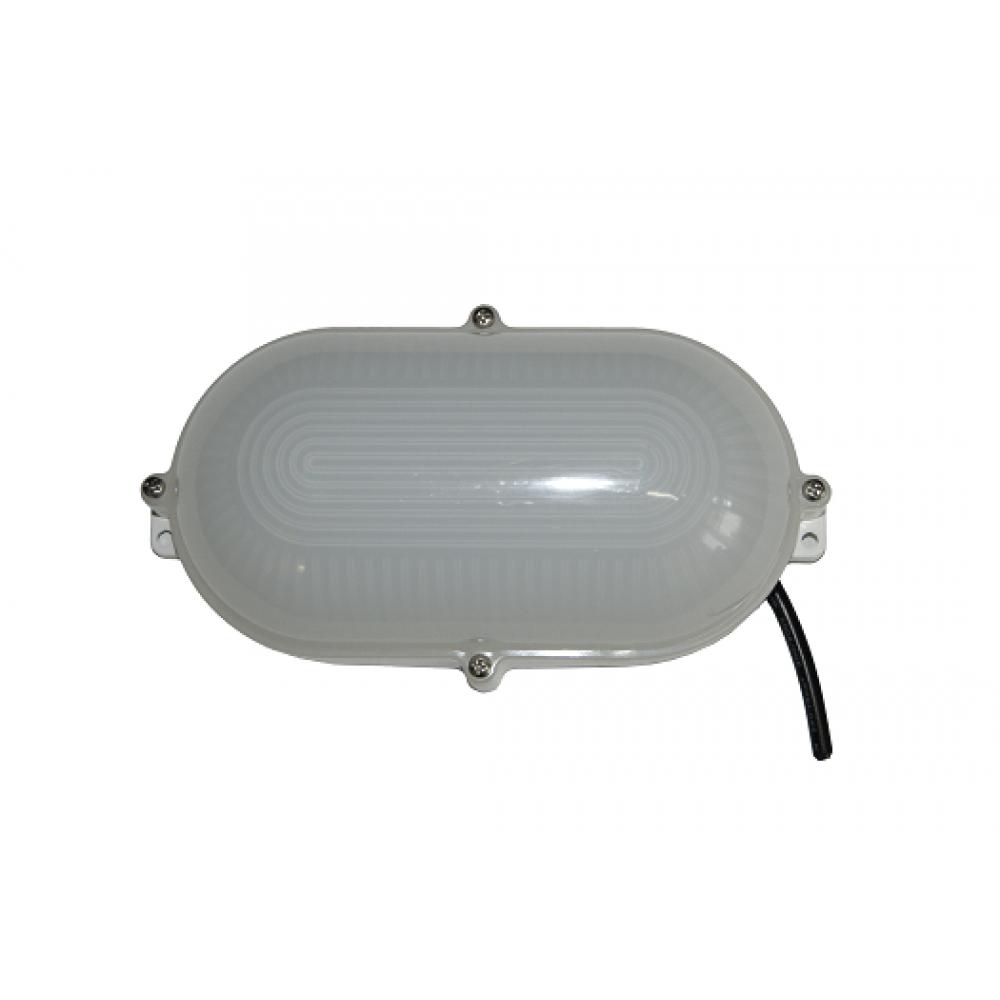 Низковольтный светодиодный светильник ЖКХ-9W 24V (PC) овал
