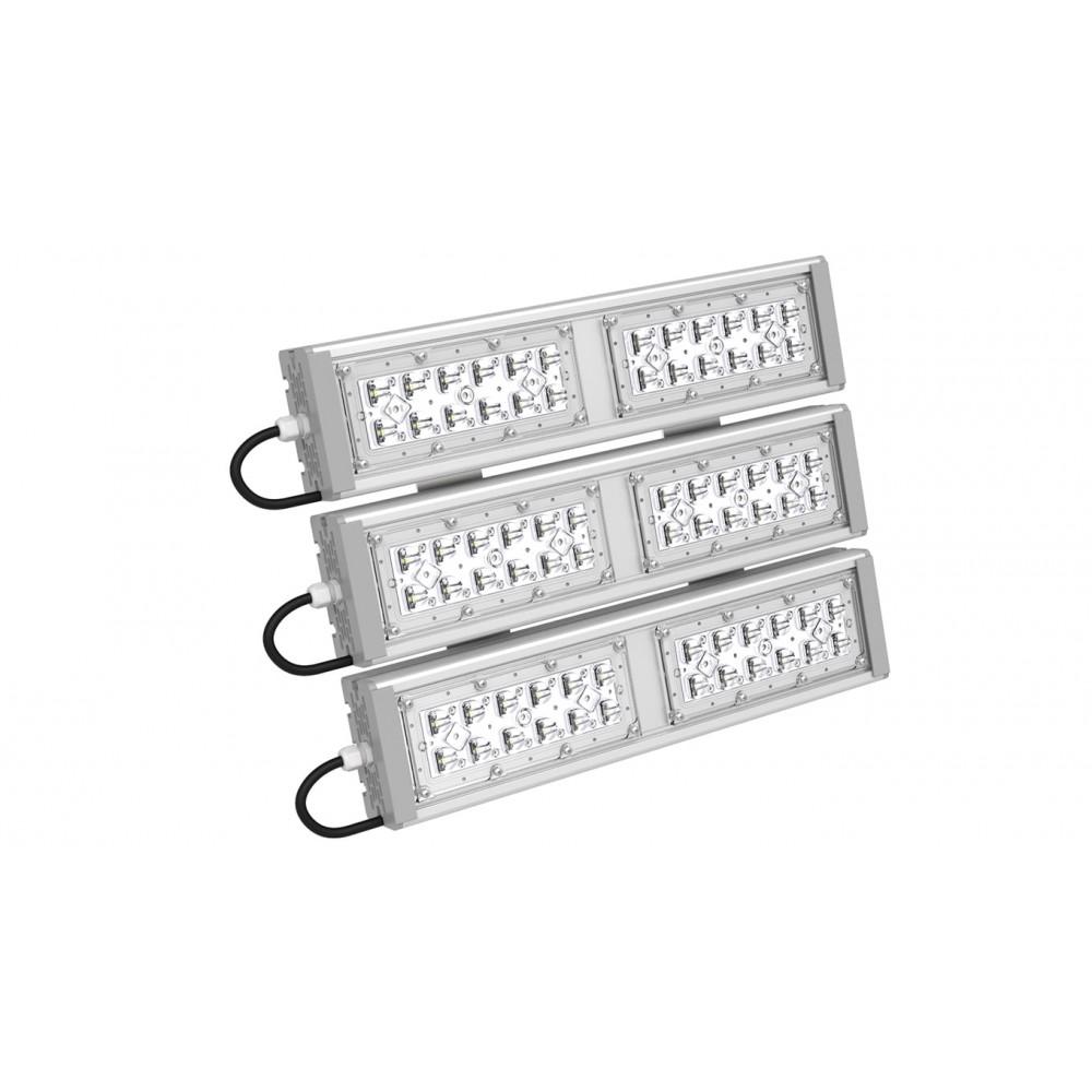 Светодиодный уличный светильник SVT-STR-M-53W-30x120-TRIO (с защитой от 380)