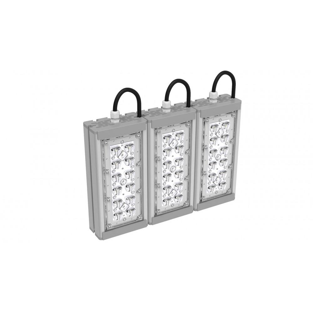 Светодиодный уличный светильник SVT-STR-M-27W-65-TRIO (с защитой от 380)