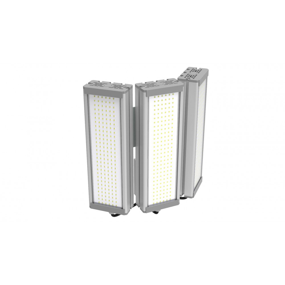 Светодиодный уличный светильник SVT-STR-M-61W-TRIO90-C (с защитой от 380)