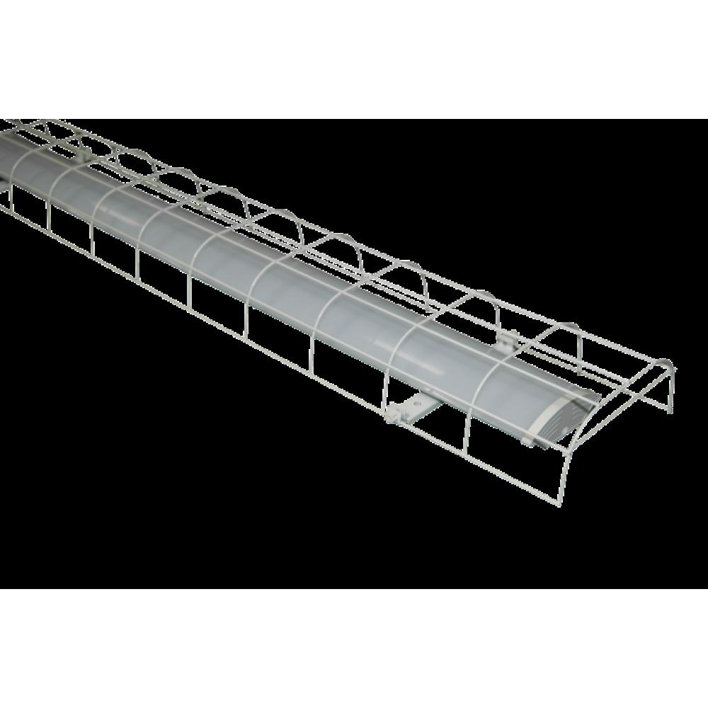 Светодиодный светильник офисный ДПО Офис 36/02-2*36 IP40 с защитной решеткой